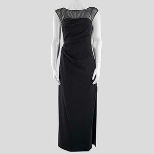 Vera Wang Black Cocktail Dress